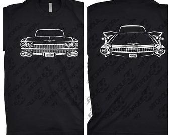 1959 Cadillac Shirt, Car Enthusiast, 1959 Cadillac Deville Shirt, Gift, Cadillac Shirt, 1959 1960 1961 Cadillac Shirt, Car Art