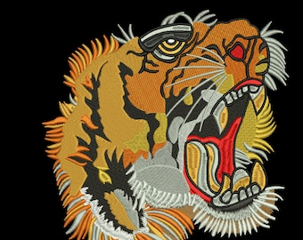 753897f97 gucci tiger lion embroidery design for jackets pattern download Custom  Embroidery Digitizing / Custom Embroidery Pattern/ Custom Digitizing