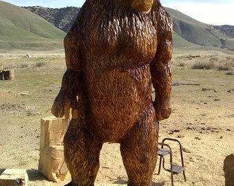 Chainsaw carving etsy