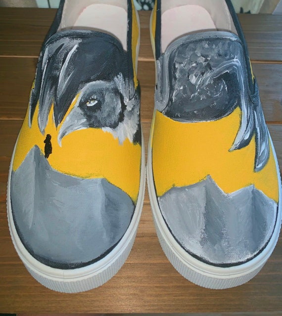Trench Painted Canvas Shoes Twenty One