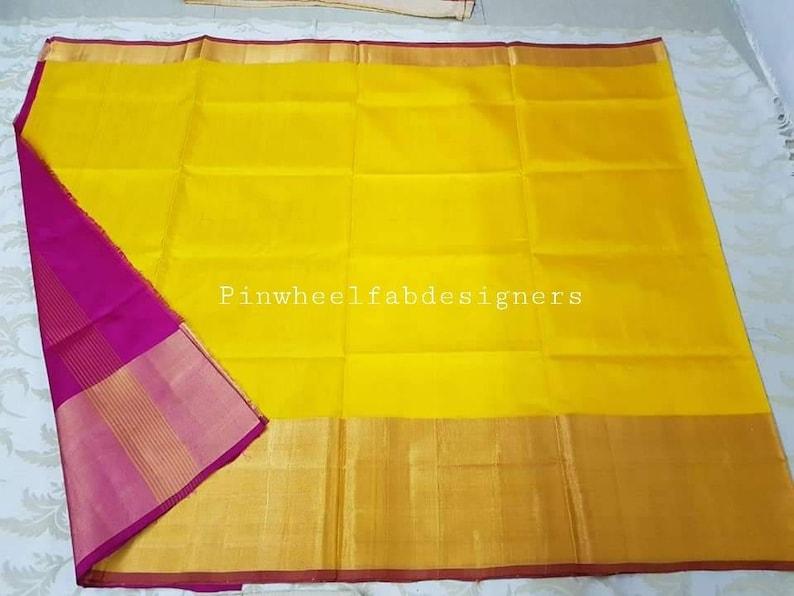 Uppada Blue with green full handwoven silk saree,Uppada saree with blouse,Pure silk sari,Uppada Jamdani,Blue saree,Traditional silk saree