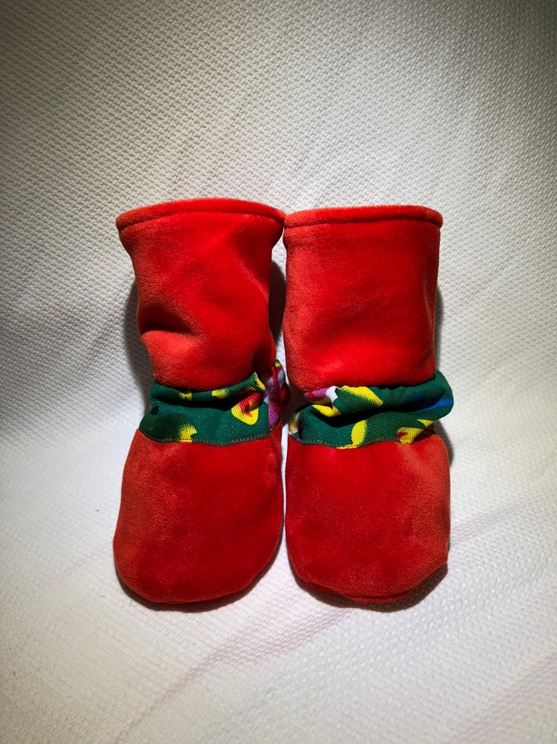 Baby adjustable winter boots