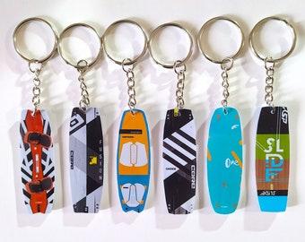 Custom keychains Kiteboard ,kiteboarding. Llavero personalizado kiteboard, regalo, llavero kiteoard, regalo kiteboard. Custom keychains kite