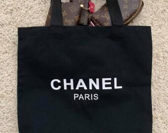 ba01d5972fa Chanel canvas shopper s tote