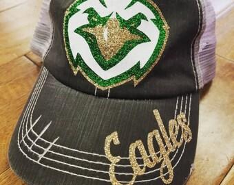 Eagles Glitter Hat b60eeade8e3