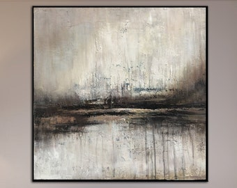 Abstract landscape wall art