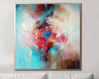 Large Oil Painting Etsy