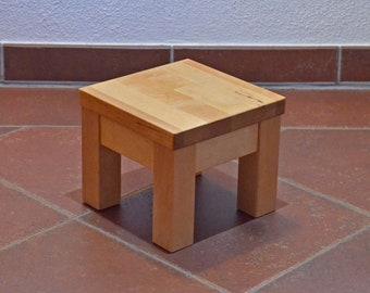 Small stool from birch