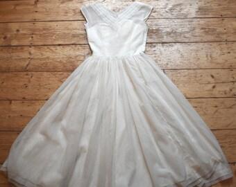 Brautkleid 50er jahre original