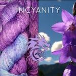 Bamboo Indie Hand Dyed Variegated Merino Yarn, Canadian Sport Yarn, Amethyst Sky, Crochet Yarn, Knitting Yarn, Purple Grape Violet Blue