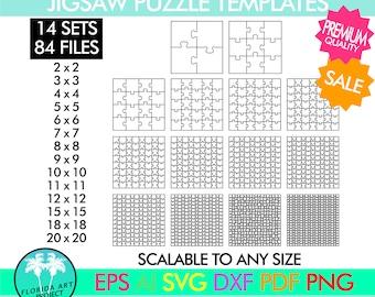 Jigsaw Puzzle Svg Etsy