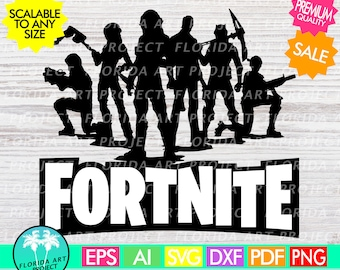 Fortnite LOGO SVG Cut File | Instant download | Gamer | printable Clipart | Silhouette Cricut | commercial use | Fortnight