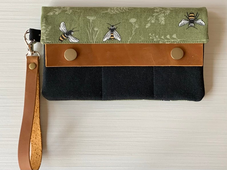 Bumblebee Wristlet Wallet