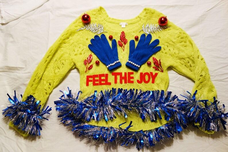 Feel the Joy Boobs-Dirty Ugly Tacky Funny Christmas ...