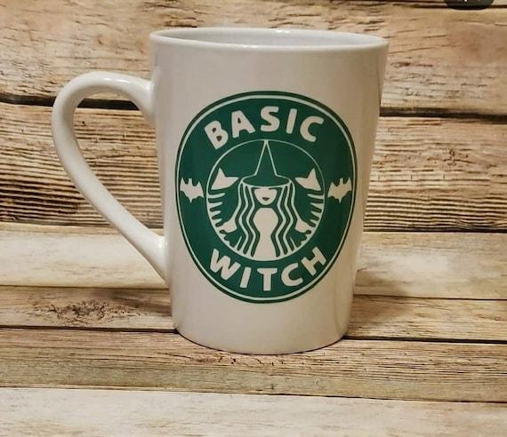 Star bucks inspired basic witch
