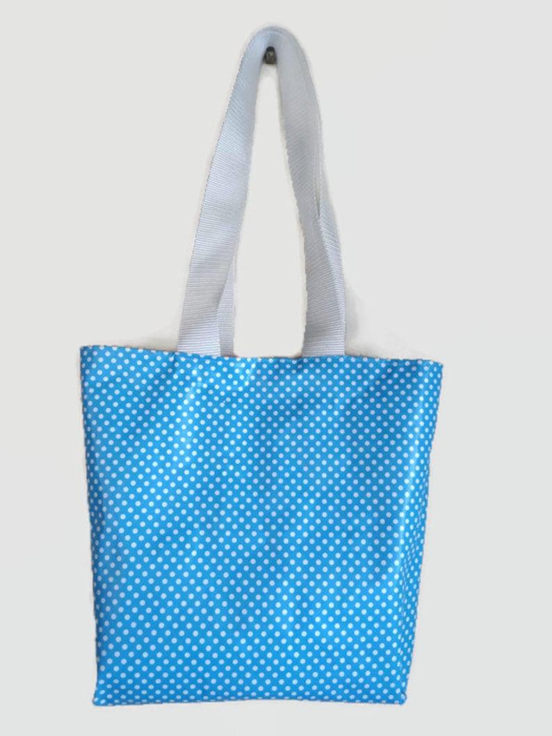Tote bag bag waterproof oilcloth Reversible pool reversible waterproof