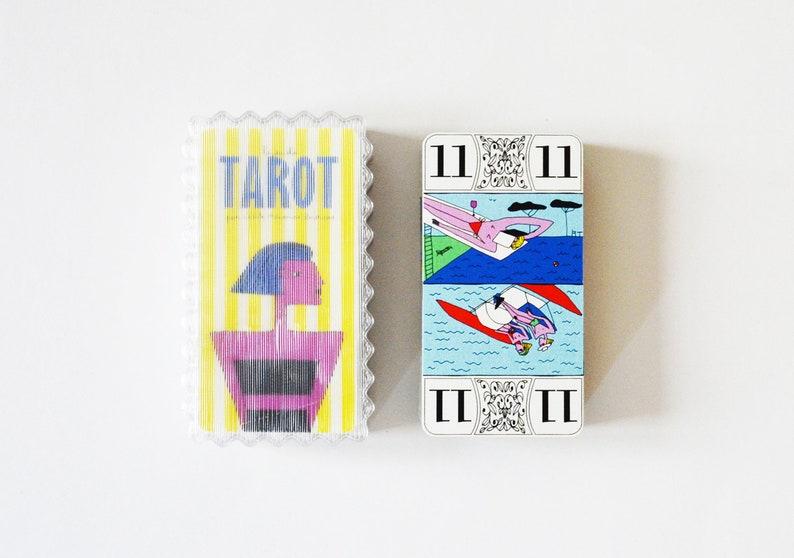 Tarot game signed Cécile Mirande-Broucas image 0