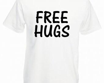 a19e575cc Free Hugs - Mens T Shirt - 100% Cotton