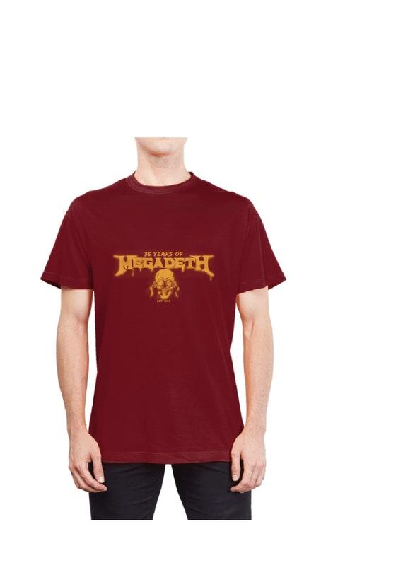 35 Shirt Édition Megadeth Ans Par De En Rare Jimmy T Limitée q4OCrqSxwK