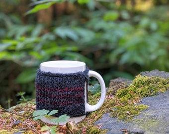 PNW Mug Cozy / Hand Crocheted Cup Sleeve