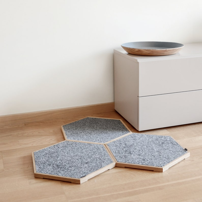 Premium Cat Scratch Panel Set Scratcher Pet Bed Modular image 0