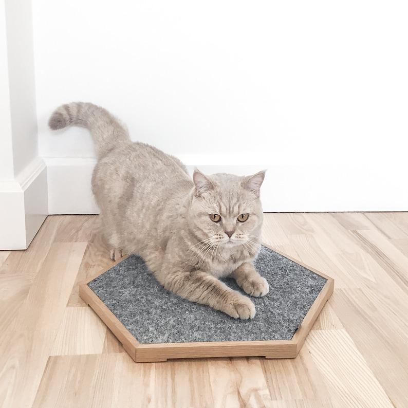 Premium Cat Scratch Panel Scratcher Pet Bed Modular image 0