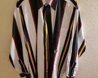 f4eea9c9d8c1 Old School Vintage 80 s 90 s Aesthetic Colorful Long Sleeve Unisex M