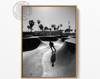 California Skater print, California Skater Poster, California Skater Art Print, Skater Photography