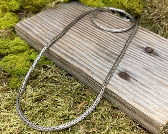 Sterling Silver Bali Style Chain