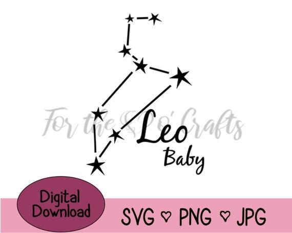 shirt leo horoscope svg digital file svg I am a cute leo baby svg tshirt horoscope svg instant download Baby desing svg