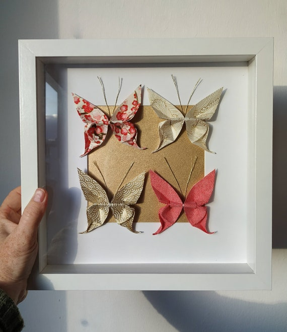 Origami Butterfly Wall Decor for Nursery Bedroom 15 by bYMi ... | 659x570