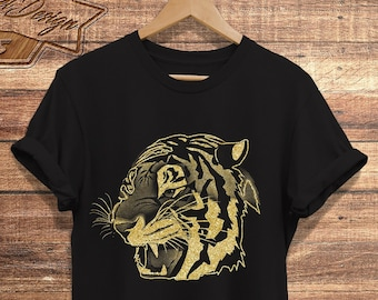 fc4036ff1 Tiger Lover Shirt , Tiger Shirt, Tiger t-shirt, gift for Tiger lovers, Big  Cat, Animal lover, Boyfriend t-shirt, womens tshirt, Gift for Her