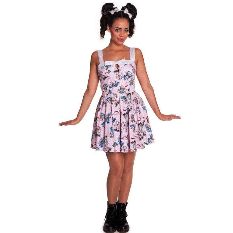 best website f3a49 dac9c Abiti stile Luna Park Dress - Retro pin up
