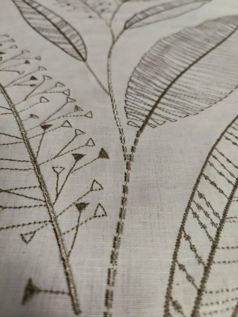 Harlequin Juniper Formosa NeutralGilver CurtainUpholstery Fabric 2.2 Metres