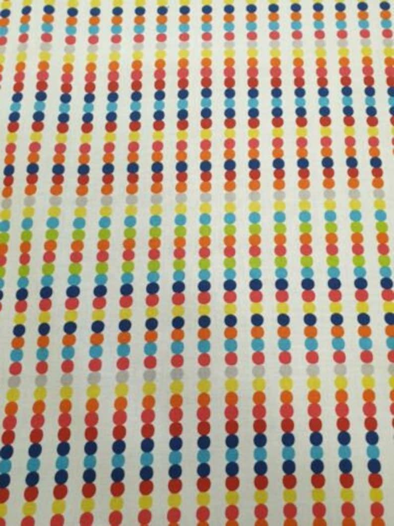 100/% Cotton Curtain Craft Fabric Harlequin Abacus Bright Multi 4 Metres