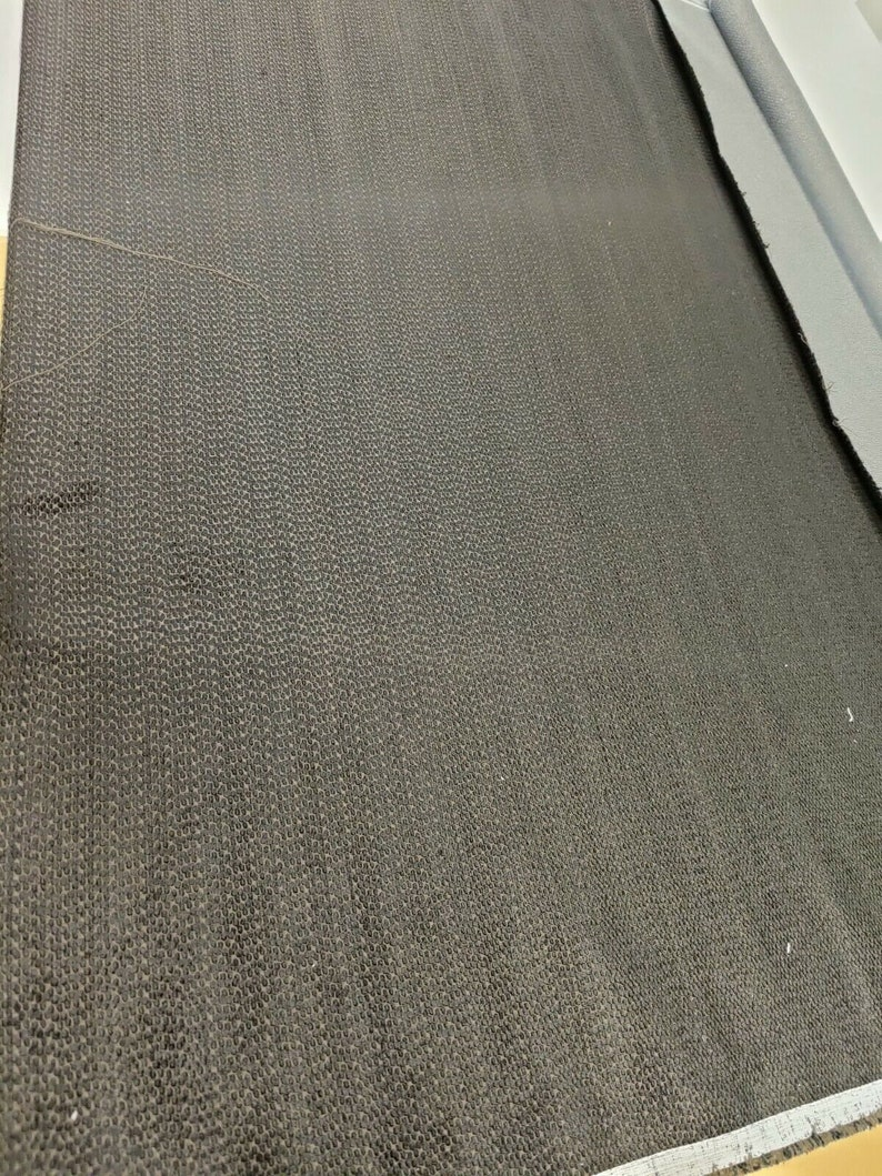 Zoffany Mica Soot Upholstery CurtainUpholstery Fabric 1 Metre