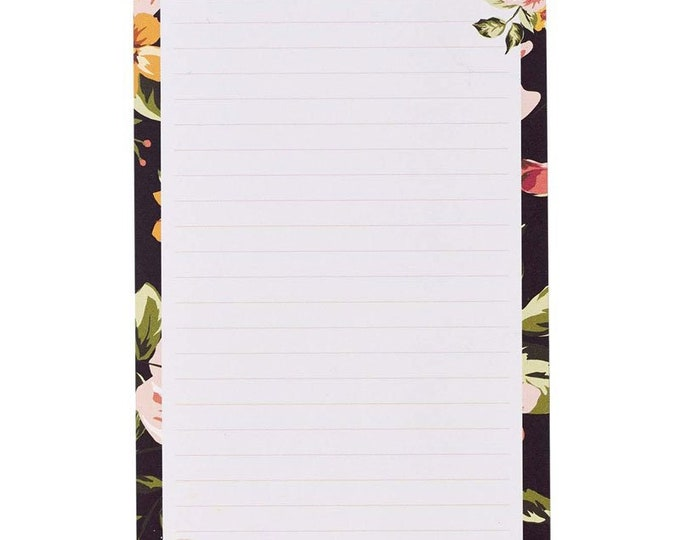 Hope in the Lord Magnetic Notepad - Isaiah 40:31| Floral Notepad| Inspirational Notepad