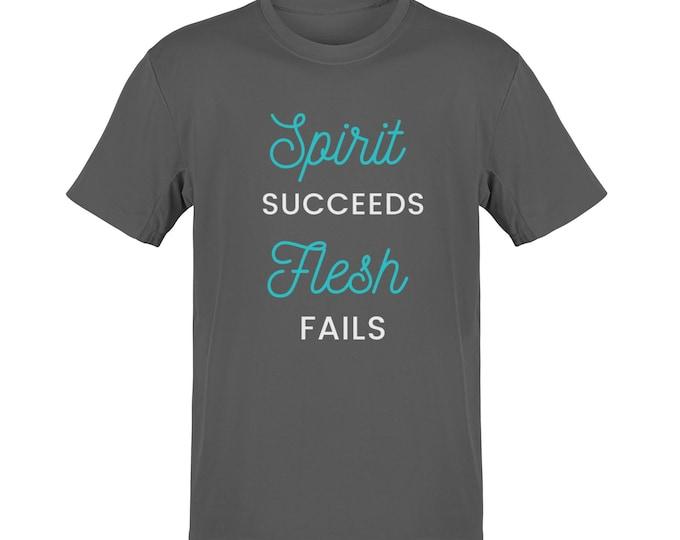 Inspirational T-Shirt  Christian Shirt  Christian Tees  Men's Shirt  Crew Neck