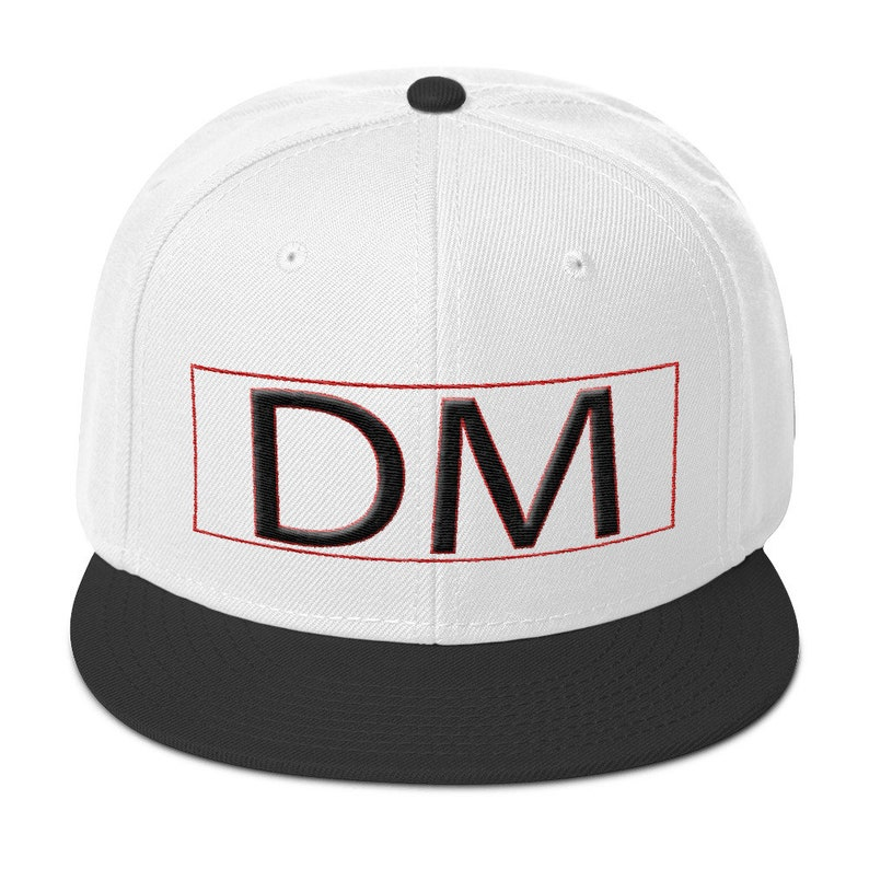 7f30302aad7 DnD Hat Snapback Hat With DM Embroidered On It Gamer