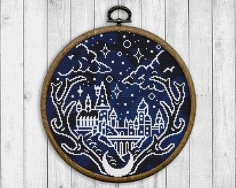 Hogwarts Stitch Etsy