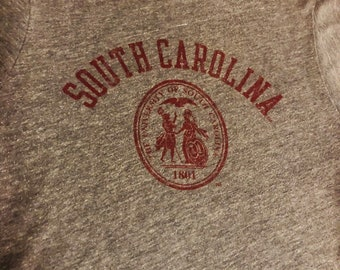bb6ccd4f0 South Carolina Gamecocks Vintage Womens T Shirt.