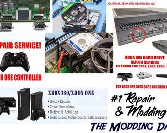Xbox 360 game repair service