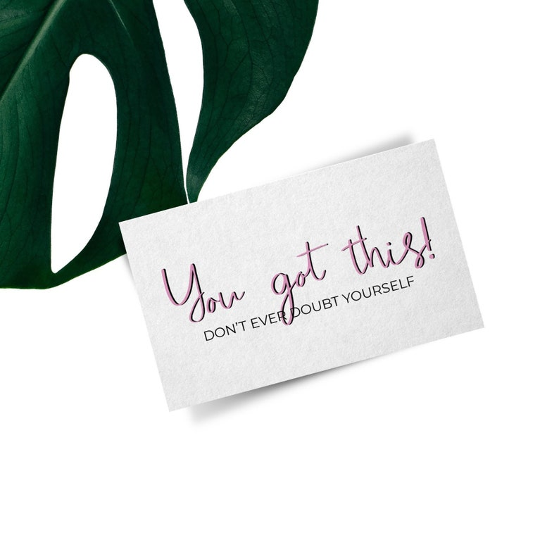 Encouragement Note Wallet Card Printable Wallet Note Inspirational Notes Affirmation Card Happiness Wallet Card Love Note Purse Note Card