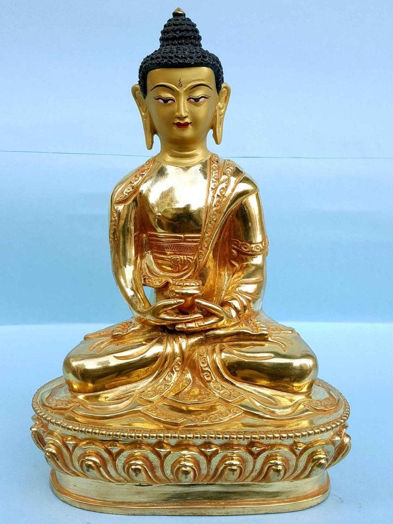 Amitabha Buddha - Tibetan Handmade Statue