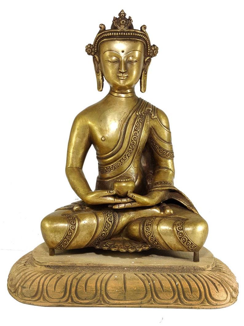 Amitabha Buddha - Handmade Statue