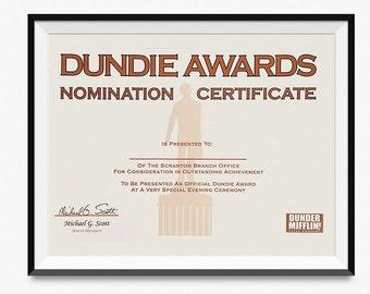 image relating to Dunder Mifflin Name Tag Printable identified as Dunder mifflin print Etsy