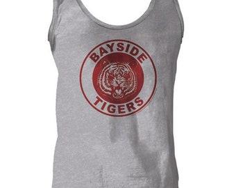 889eb74078c Bayside Tigers Tank Top AC Slater Zack Morris A.C. Costume Shirt Gift  Halloween 90s TV Show