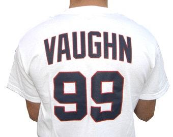 6cdd9f10ea1 Rick Vaughn Wild Thing Jersey T-Shirt  99 Ricky Baseball Movie Tee Shirt  Gift Halloween 90s Uniform