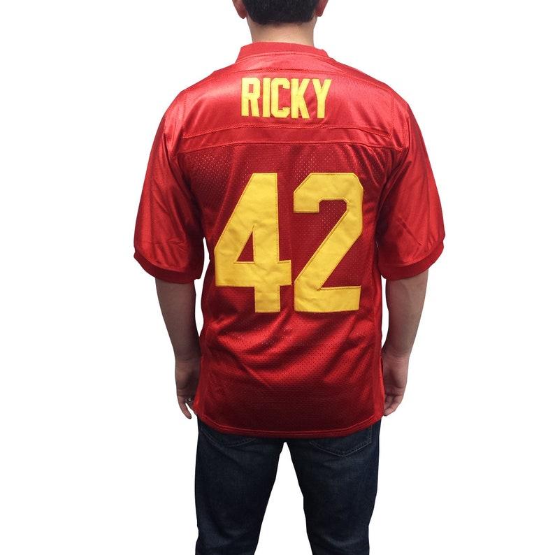 Ricky Baker #42 Football Jersey Costume Movie Uniform Shirt Gift Halloween 90s