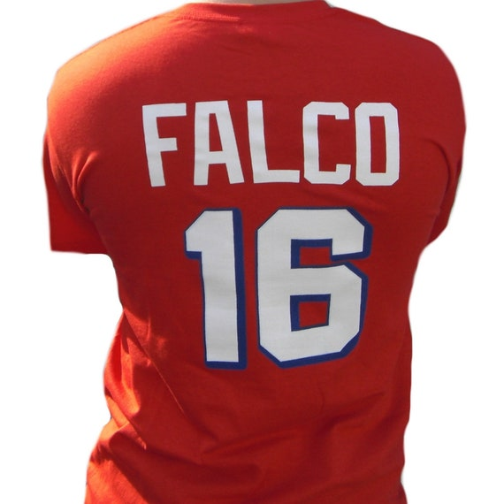 The Replacements #16 Shane Falco Washington Sentinels Movie Football Jersey Red
